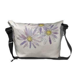 Asters bag from Nan Henke original watercolor Commuter Bag