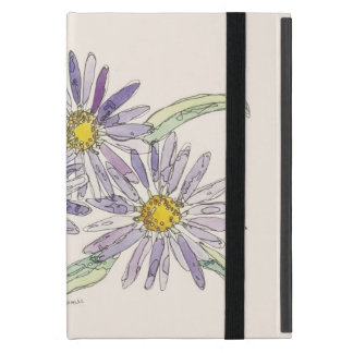 Asters case from Nan Henke original watercolor