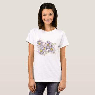 Asters shirt from Nan Henke original watercolor