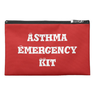 Asthma Emergency Kit Travel Bag Travel Accessory Bag