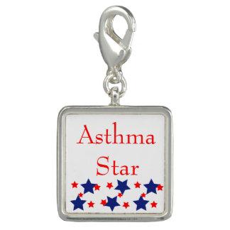 Asthma Star Charm or Pendant