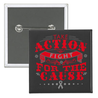 Asthma Take Action Fight For The Cause Button