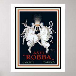Asti Robba Ad by Cappiello 16x20 Poster