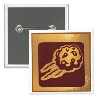 ASTOID Metroit Buring Star - Medal Icon Gold Base Pins