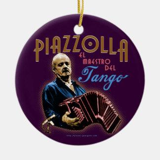 Astor Piazzolla Ceramic Ornament