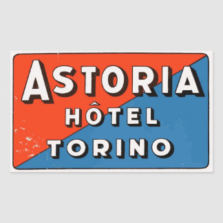 Astoria Hotel (Torino - Italy) Sticker