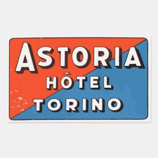 Astoria Hotel (Torino - Italy) Sticker