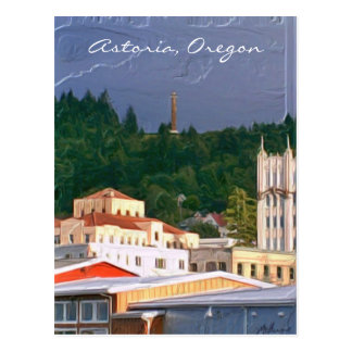 Astoria Oregon Postcard