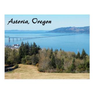 Astoria, Oregon Travel Postcard