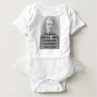 Astound Ourselves - Thomas Edison Baby Bodysuit