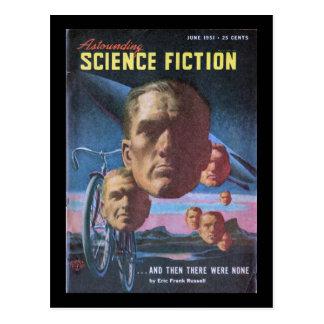Astounding Science Fiction _June 1951_Pulp Art Postcard