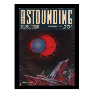 Astounding Science-Fiction, September, 1940_Pulp Postcard