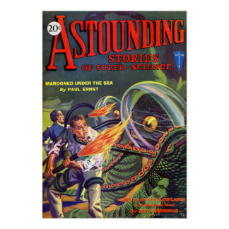 Astounding Stories of Super Science Fiction Poster