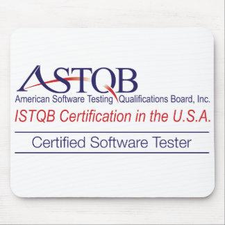 ASTQB Certified Software Tester Mousepad
