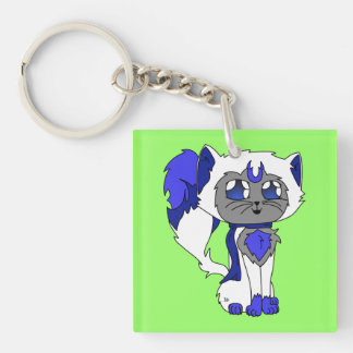 Astra Double-Sided Square Acrylic Keychain