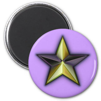 Astra Metallica Lavender 2 Inch Round Magnet