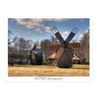 ASTRA Museum Postcard