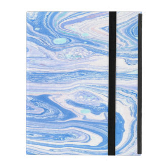 Astract blue  iPad 2/3/4 Case with No Kickstand