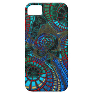 "Astract Fractal ""wave"" Case For The iPhone 5"