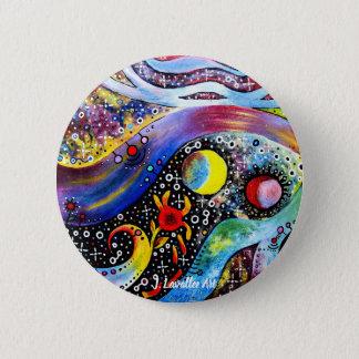 """""""Astral"""" 2 Inch Round Button"""