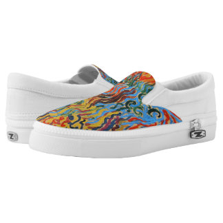 Astral Composition Slip-On Sneakers