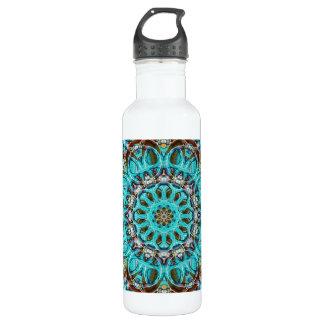 Astral Eye Mandala 710 Ml Water Bottle