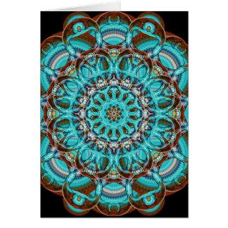 Astral Eye Mandala Card