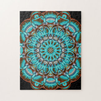 Astral Eye Mandala Jigsaw Puzzle