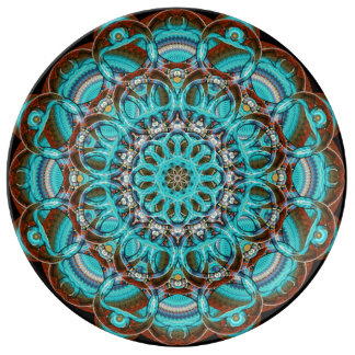 Astral Eye Mandala Plate