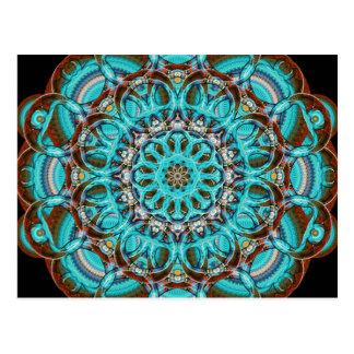 Astral Eye Mandala Postcard