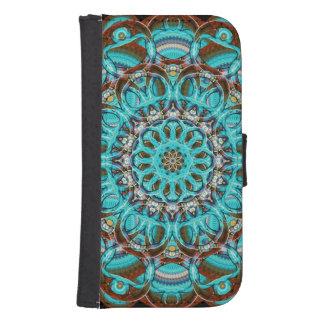 Astral Eye Mandala Samsung S4 Wallet Case