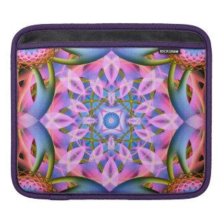 Astral Flower Mandala iPad Sleeves