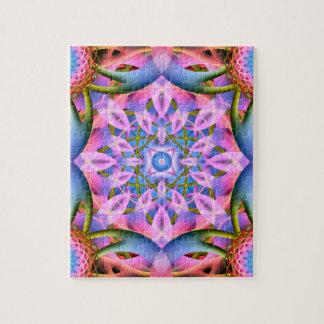 Astral Flower Mandala Jigsaw Puzzle
