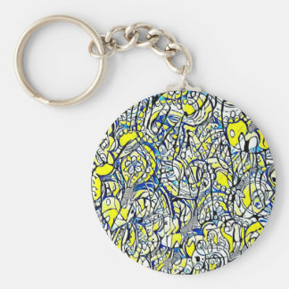 Astral key-ring flowers 3 keychain