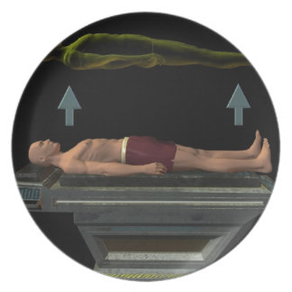 Astral Projection, Out-of-Body Experience Plate