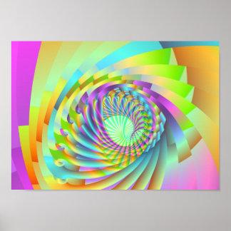 astral spiral poster