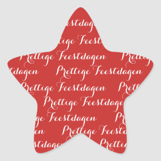 ASTRE Christmas text stickers pleasant holidays