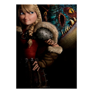 Astrid & Stormfly Posters