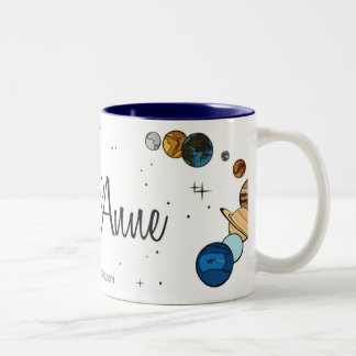 Astro Anne Two-Tone Coffee Mug