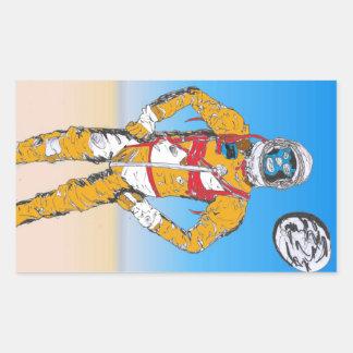 Astro Lucha Sticker