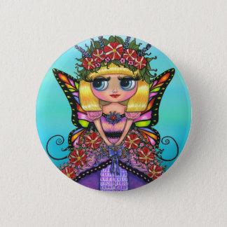 Astro Petunia Fairy Button