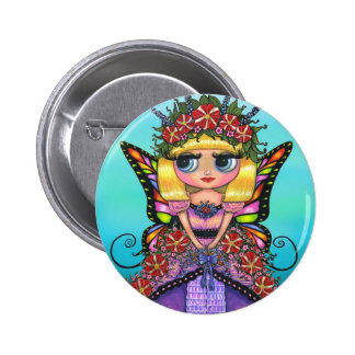 Astro Petunia Fairy Button
