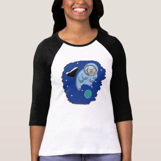 Astro-Tardigrade Ladies T-Shirt
