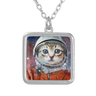 Astrocat Silver Plated Necklace