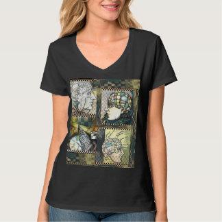 """""""Astrolabe 23"""" Women's Hanes Nano V-Neck T-Shirt"""