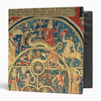 Astrological tapestry 3 ring binder