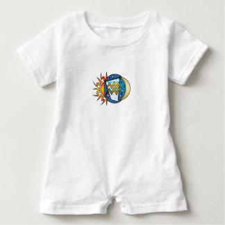 astrology,Aquarius Baby Romper