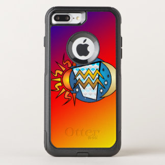 astrology,Aquarius OtterBox Commuter iPhone 8 Plus/7 Plus Case