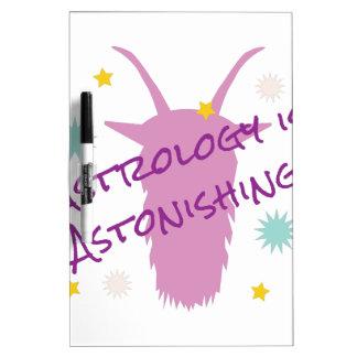 Astrology Astonishing Dry Erase Whiteboard