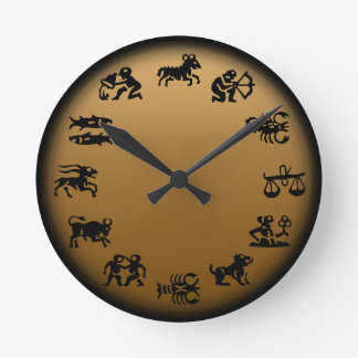 Astrology Clock Horoscope Clocks - Customize